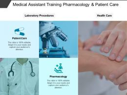 Medical Assistant Training Pharmacology And Patient Care