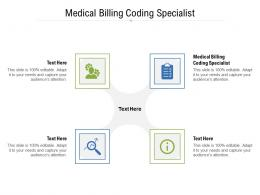 Medical Billing Coding Specialist Ppt Powerpoint Presentation Gallery Example Introduction Cpb