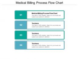 Medical Billing Process Flow Chart Ppt Powerpoint Presentation Pictures Guidelines Cpb