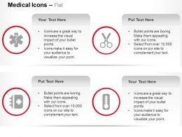 Medical Caducecus Equipments Thermometer Ppt Icons Graphics
