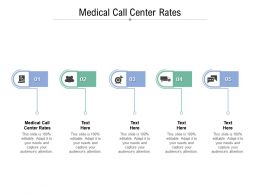 Medical Call Center Rates Ppt Powerpoint Presentation Infographic Template Clipart Cpb