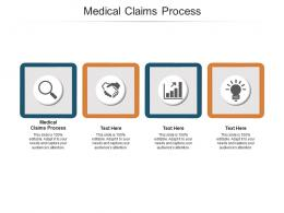 Medical Claims Process Ppt Powerpoint Presentation Outline Portrait Cpb