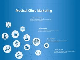 Medical Clinic Marketing Ppt Powerpoint Presentation Gallery Guide