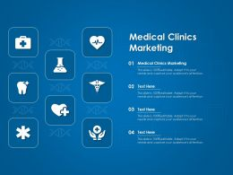 Medical Clinics Marketing Ppt Powerpoint Presentation Summary Themes