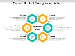 Medical Content Management System Ppt Powerpoint Presentation Styles Icon Cpb