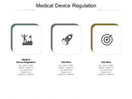 Medical Device Regulation Ppt Powerpoint Presentation Summary Template Cpb