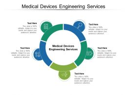 Medical Devices Engineering Services Ppt Powerpoint Presentation Infographic Template Cpb