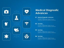 Medical Diagnostic Advances Ppt Powerpoint Presentation Portfolio Gridlines