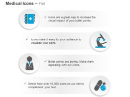 medical_diary_telescope_doctor_medicine_ppt_icons_graphics_Slide01