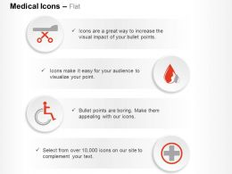 Medical Emergency Treatment Symbols Ppt Icons Graphics