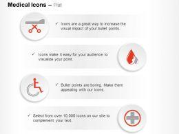 Medical Emergency Treatment Symbols Ppt Icons Graphics