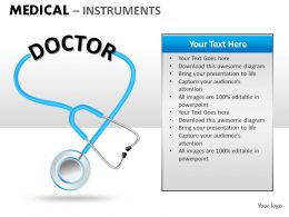 Medical powerpoint themes medical powerpoint templates medical instrument toneelgroepblik Gallery