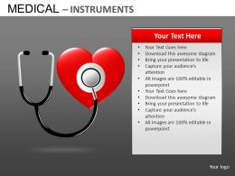 Medical Instrument Powerpoint Presentation Slides DB