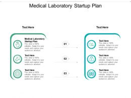 Medical Laboratory Startup Plan Ppt Powerpoint Presentation File Show Cpb