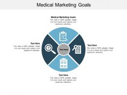 Medical Marketing Goals Ppt Powerpoint Presentation Infographics Visuals Cpb