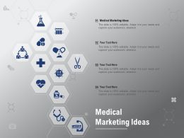 Medical Marketing Ideas Ppt Powerpoint Presentation Slides Graphics Download