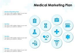 Medical Marketing Plan Ppt Powerpoint Presentation Templates