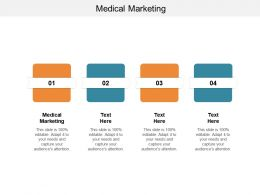 Medical Marketing Ppt Powerpoint Presentation Slides Summary Cpb