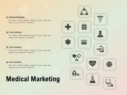 Medical Marketing Ppt Powerpoint Presentation Templates
