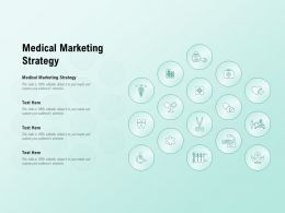 Medical Marketing Strategy Ppt Powerpoint Presentation Designs