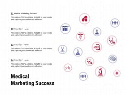 Medical Marketing Success Ppt Powerpoint Presentation Icon Elements