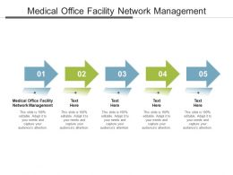 Medical Office Facility Network Management Ppt Powerpoint Presentation Pictures Icons Cpb