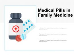 Medical Pills In Family Medicine