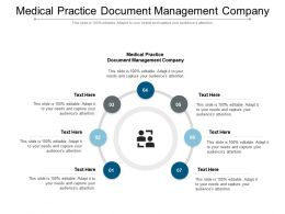 Medical Practice Document Management Company Ppt Powerpoint Presentation Ideas Cpb