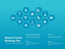 Medical Practice Marketing Plan Ppt Powerpoint Presentation Summary Format Ideas