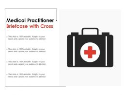Medical Practitioner Briefcase With Cross