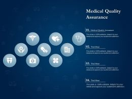 Medical Quality Assurance Ppt Powerpoint Presentation Pictures Tips