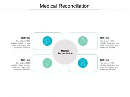 Medical Reconciliation Ppt Powerpoint Presentation Ideas Portfolio Cpb