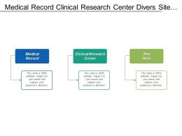 Medical Record Clinical Research Center Divers Site Requirement Cpb
