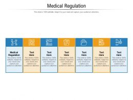 Medical Regulation Ppt Powerpoint Presentation Pictures Gridlines Cpb