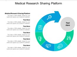 Medical Research Sharing Platform Ppt Powerpoint Presentation Ideas Graphics Cpb