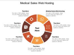 Medical Sales Web Hosting Ppt Powerpoint Presentation Portfolio Ideas Cpb