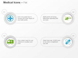medical_sign_air_medical_services_ambulance_bandage_ppt_icons_graphics_Slide01