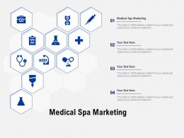 Medical Spa Marketing Ppt Powerpoint Presentation Infographic Template Gallery