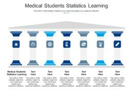 Medical Students Statistics Learning Ppt Powerpoint Presentation Summary Graphics Cpb
