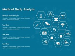 Medical Study Analysis Ppt Powerpoint Presentation Slides Graphics Tutorials