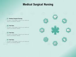 Medical Surgical Nursing Ppt Powerpoint Presentation File Ideas