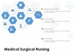 Medical Surgical Nursing Ppt Powerpoint Presentation Pictures Gallery