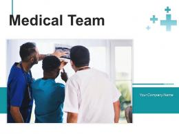 Medical Team Analyzing Treatment Performing Operation Dress