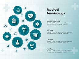 Medical Terminology Ppt Powerpoint Presentation Outline Background Image