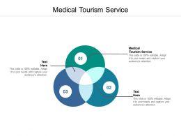 Medical Tourism Service Ppt Powerpoint Presentation Diagram Lists Cpb