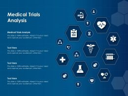 Medical Trials Analysis Ppt Powerpoint Presentation Layouts Model