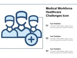 Medical Workforce Healthcare Challenges Icon