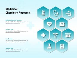 Medicinal Chemistry Research Ppt Powerpoint Presentation Diagram Graph Charts