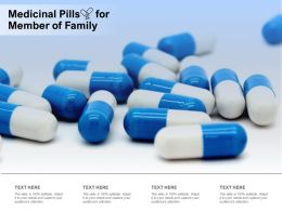Medicinal Pills For Member Of Family