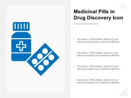 Medicinal Pills In Drug Discovery Icon